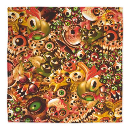 Monster world worm Bandana