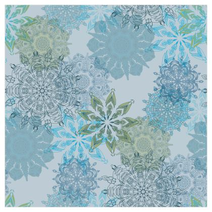 Mandala Dream (Blue) - Luxury Wallpaper