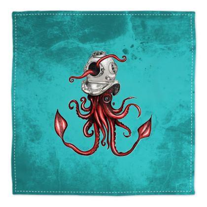 The Squid and the Helmet Bandana