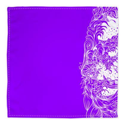 Wave Purple Bandana