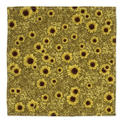Sun Flower Bandana