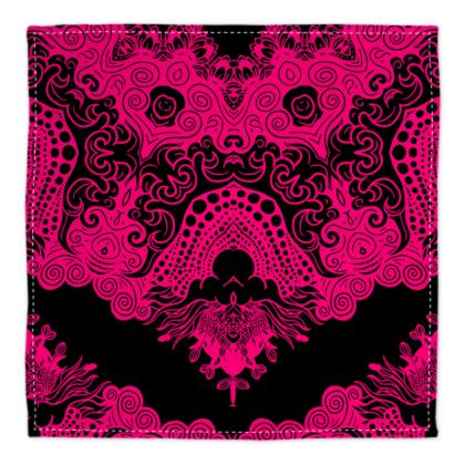Pink Symmetry Bandana