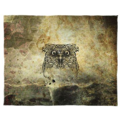 owl Scarf Wrap Or Shawl