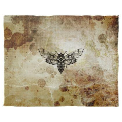 Moth Scarf Wrap Or Shawl
