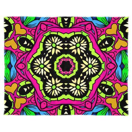 Kaleidoscope 2 Scarf Wrap Or Shawl