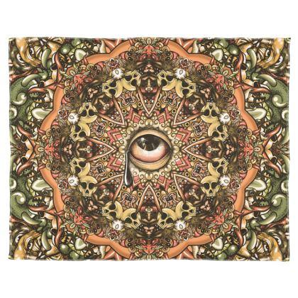 Mandala Look Scarf Wrap Or Shawl