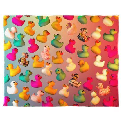 Rubber Ducks Scarf Wrap Or Shawl