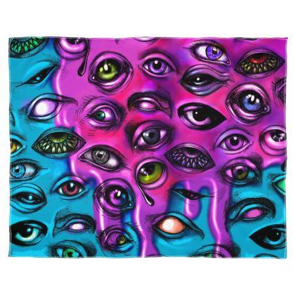 Melting eyes Scarf Wrap Or Shawl
