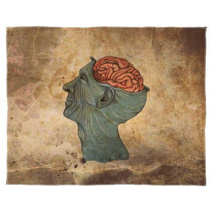 Brain Scarf Wrap Or Shawl