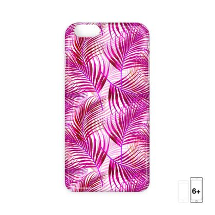 Tropical Garden in Magenta Collection IPhone Cases