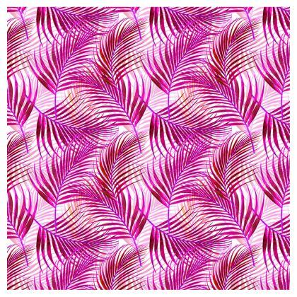 Tropical Garden in Magenta Collection Directors Chair