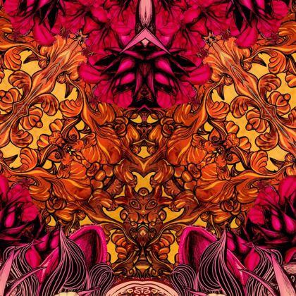 Kaleidoscope 2 Kimono