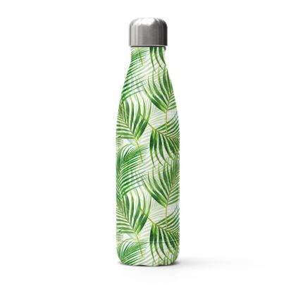 Tropical Garden Collection Stainless Steel Thermal Bottle