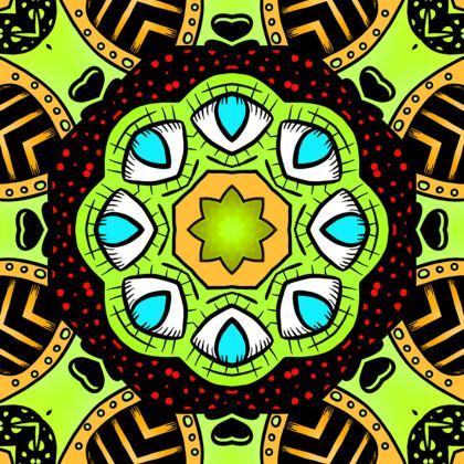 Mandala 3 Kimono