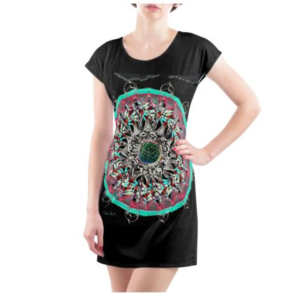 """Ladies Tunic T-Shirt """"Light from within"""""""