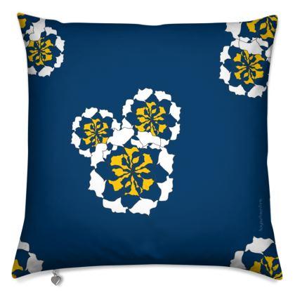 Geometric Floral Cushion cover
