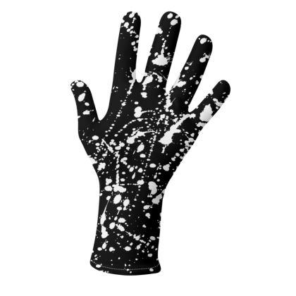 Splatter 2 Pack of Gloves in Black and in White
