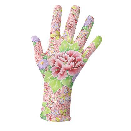 Pink Paisley Kimono Gloves 2 pack