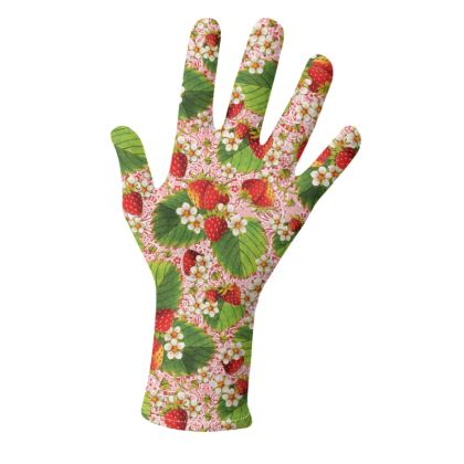 Botanical Strawberries and Paisley Gloves 2 pack
