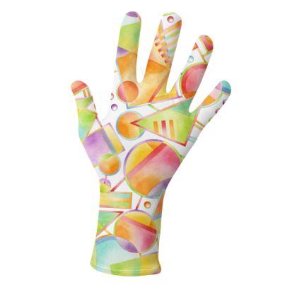 Fun Geometric Gloves 2 pack