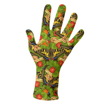 Old World Swallowtail Butterfly Gloves 2 pack