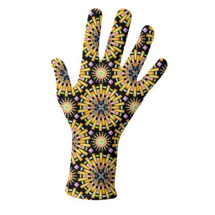Sunburst Mandala Gloves 2 pack