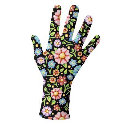 Millefiori Floral Gloves 2 pack