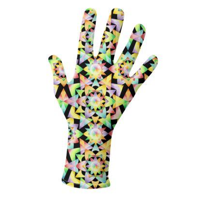 Rainbow Kaliedoscope Gloves 2 pack