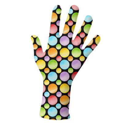 Rainbow Polka Dots Gloves 2 pack