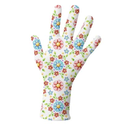 Daisy Calico Gloves 2 pack