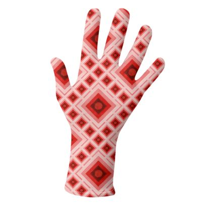 Op Art Geometric Gloves 2 pack