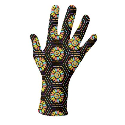 Rainbow Mandala Hexagon Gloves 2 pack