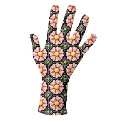 Pink Daisy Gloves 2 pack