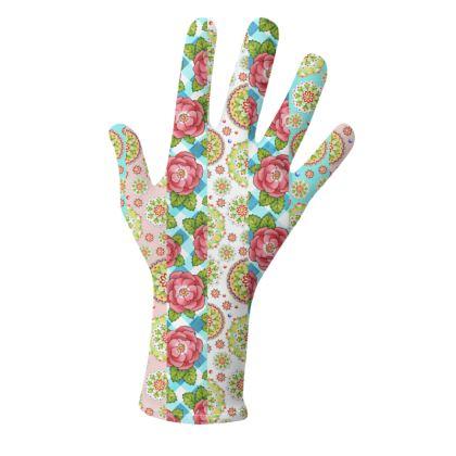 Alpen Rose Stripe Gloves 2 pack