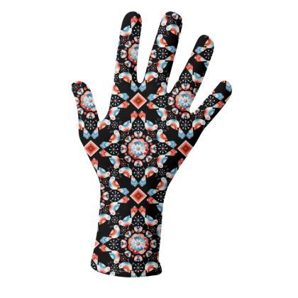 Ombre Birds Gloves 2 pack