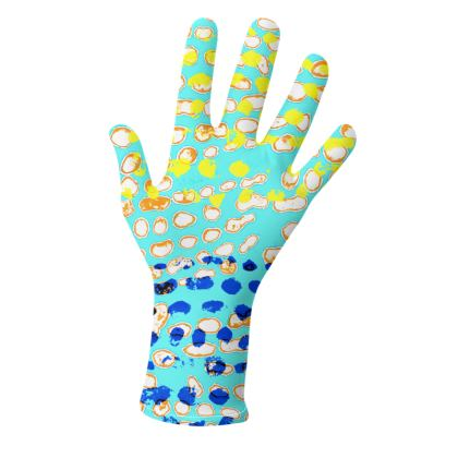 Textural Collection multicolored Gloves