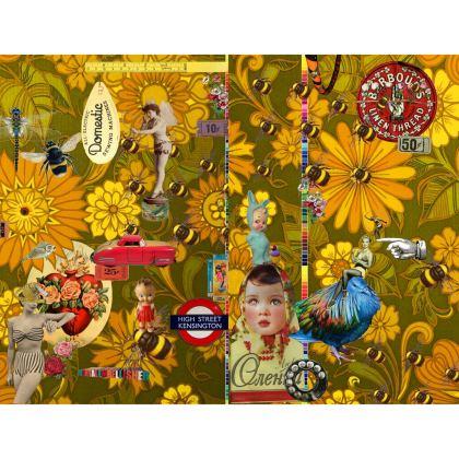Orange Mayhem Kimono