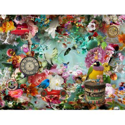 The Secret Garden Kimono