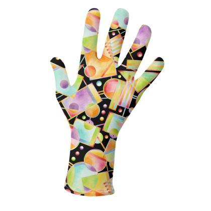 Rainbow Geometric Gloves 2 pack