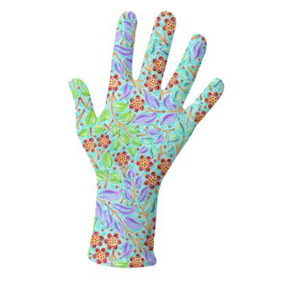 Caribbean Filigree Floral Gloves 2 pack