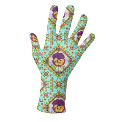 Victorian Pansy Parterre Gloves 2 pack