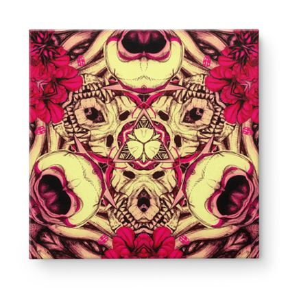 Kaleidoscope 5 Square Canvas