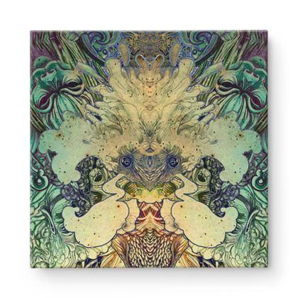 Kaleidoscope 2 Square Canvas