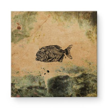 Piranha Square Canvas