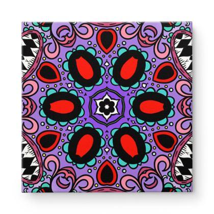 Mandala 8 Square Canvas