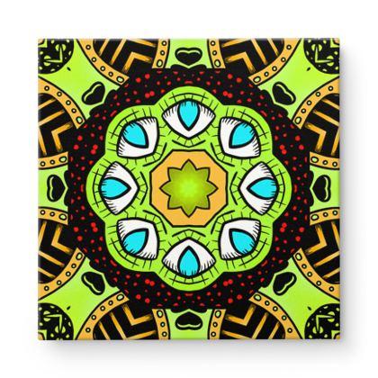 Mandala 6 Square Canvas