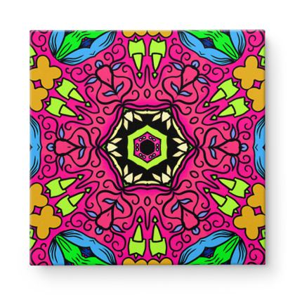 Mandala 7Square Canvas