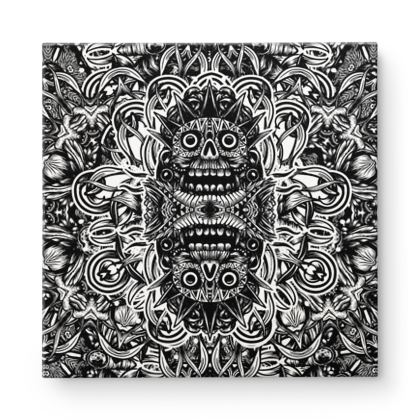Totem 2 Square Canvas