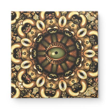 Mandala 4 Square Canvas