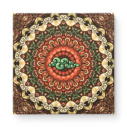 Mandala 2 Square Canvas
